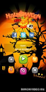 Halloween Line – аркадный три в ряд