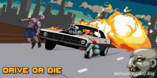 Drive or Die - Zombie Pixel Derby Racing Games