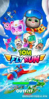 Talking Tom Fly Run: New Fun Running Game