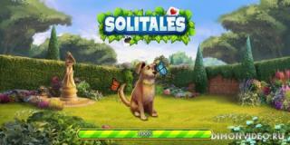 Solitales: Классический Три пика пасьянс в саду