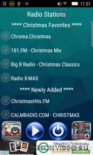 Рождественская музыка радио