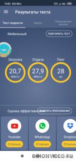 Метеор - Тест скорости