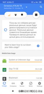 Mobile Data - Monitor Usage Compress, and Save!