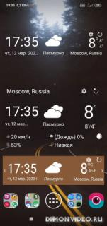 Прогноз погоды Pro: Хронология, Радар