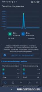 Net Speed Indicator: SpeedTest