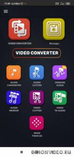 Video Converter, Compressor MP4, 3GP, MKV, MOV, AVI