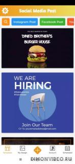 Social Media Post Maker - Banner & Graphic Design