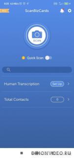 ScanBizCards Lite - Business Card & Badge Scan App