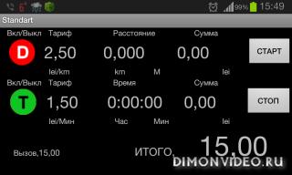 GPS taximeter