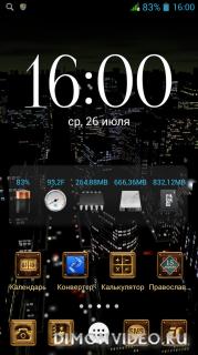 Digital Clock Widget Xperia Premium - v3.9.9.145 by Niko