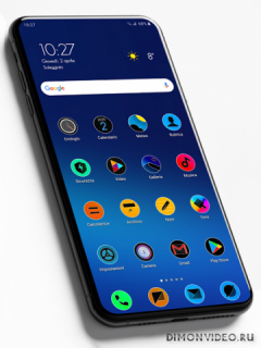 Miui 11 Circle Fluo - Icon Pack