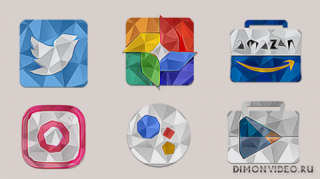 LOW POLY - Icon Pack