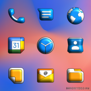 Pixel Limitless 3D - Icon Pack