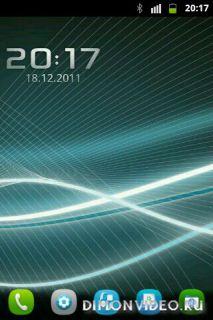 N9 (Meego N9 theme Go Launcher EX)
