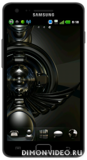 3D black diamond GO Launcher