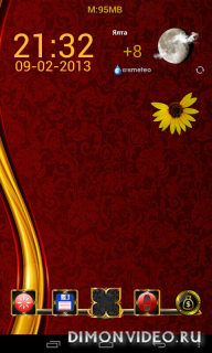 Next Launcher Theme Gold