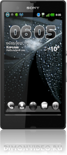 Black Bubbles Next Launcher 3D
