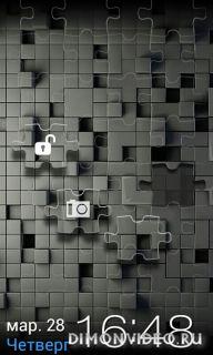 Go locker Puzzle theme
