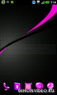 Pink 3D OptimusB Next Launcher