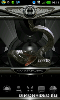NEXT black snake theme HD