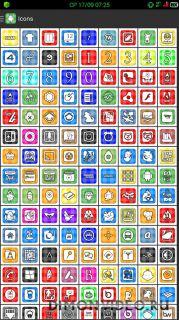 Vitro Flat Icon Pack Theme
