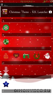 Christmas Theme - KK Launcher