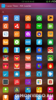 Concise Theme - Icon Pack, HD