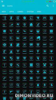VRS Cyan Icon Pack