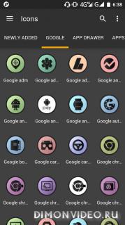 Bord UI - Flat Round Icon Pack