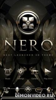 Nero Next Launcher 3D Theme