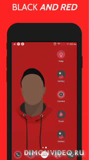 MKBHD Icon Pack - Red & Black Edition