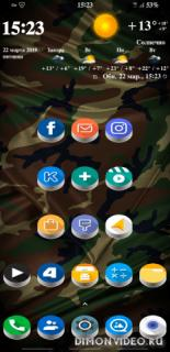 Pixel Oreo 3D - Icon Pack