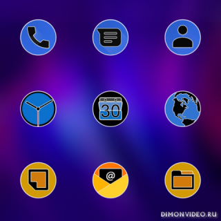 PIXEL FLUO - ICON PACK