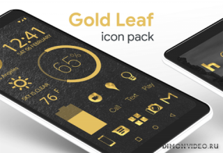 Gold Leaf - Icon Pack (Pro Version)