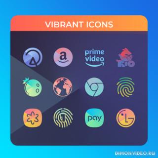 Vibrant - Icon Pack
