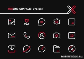 RedLine IconPack : LineX MKBHD Edition