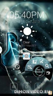 NOTE 3 AirCommand Themes