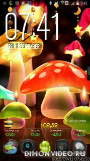 Mushroom Light LiveWallpaper