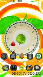 Вегетарианские Часы Живые Обои