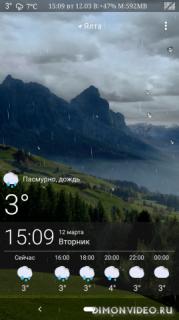 Green Mountains: Weather, Live Wallpaper & Widgets
