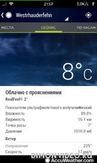 AccuWeather погода, радар, новости и карты осадков