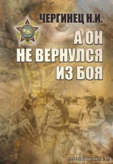 А он не вернулся из боя - Николай Чергинец