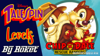 Chip And Dale Rescue Rangers (Tale Spin levels)