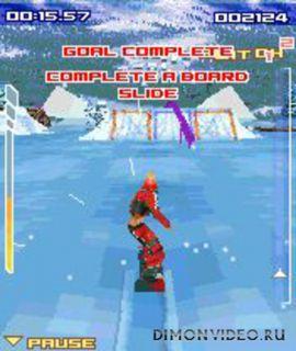 Massive Snowboarding 3D for S60v1/N-GAGE