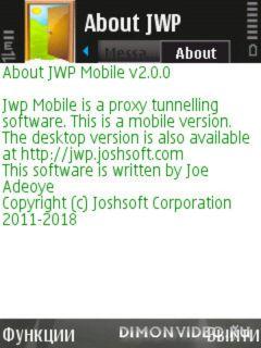 Joshsoft Web Proxy - JWP Mobile
