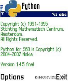 Python for S60v1/N-GAGE (QD)