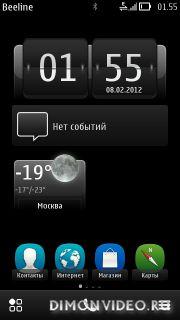 Nokia Belle RM-596 v111.030.609 для Nokia N8