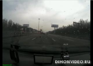 Авария на Киевском шоссе 25 км.