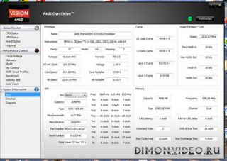 AMD Overdrive Utility