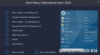 Start Menu Alternatives